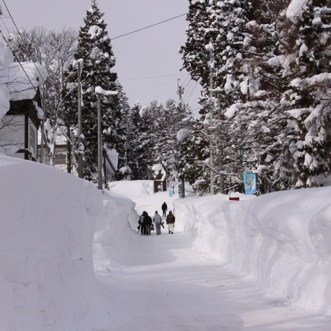Back streets of Myoko.JPG